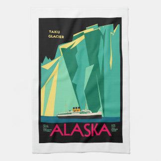 Travel to Alaska AK Taku Glacier Special Cruises : Kitchen Towels