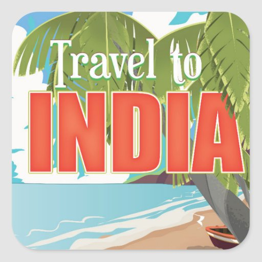 Travel To India Travel Poster Square Sticker  Zazzle. 7 December Signs Of Stroke. Cool Shower Murals. Infographics Signs. Simplistic Stickers. Cpss Signs Of Stroke. Being Bullied Signs Of Stroke. Brown Banners. Younique Banners