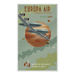 Travel To Jupiter Poster at Zazzle