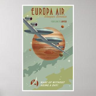 Travel to Jupiter Poster