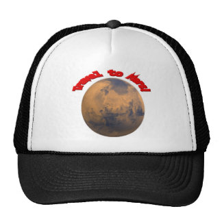 Travel to Mars Hat