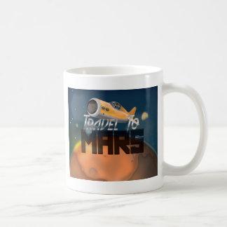 Travel To Mars Classic White Coffee Mug