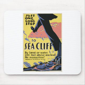 Travel to Sea Cliff Mouse Pad