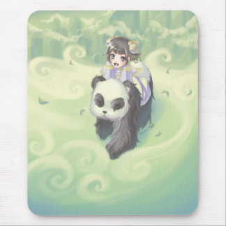Travel to the unkown together mousepad