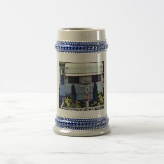 Travel Trailer At Home Beer Stein
