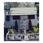 Travel Trailer At Home Posters