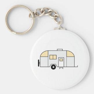 Travel Trailer Keychain