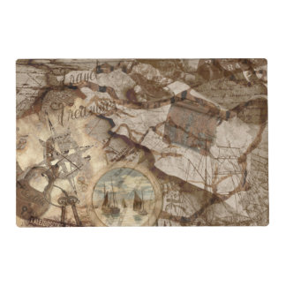 Travel Treasures Collection Placemat