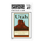 Travel Utah Postage Stamp