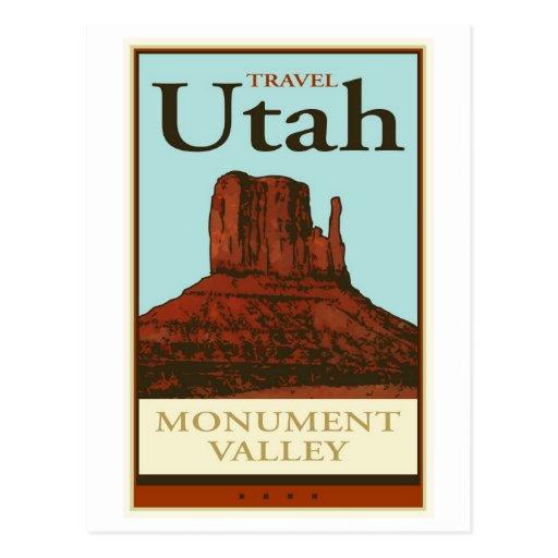 Travel Utah Postcard