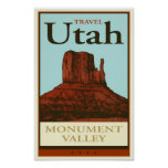 Travel Utah Poster