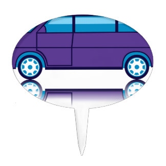 Bus Cake Toppers | Zazzle
