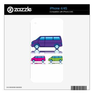 Travel Van/Bus iPhone 4S Decals