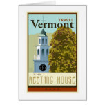 Travel Vermont Greeting Card