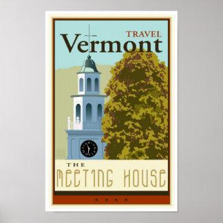 Travel Vermont Poster