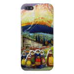 Travel Vintage Poster Abruzzo Italy iPhone 5 Covers