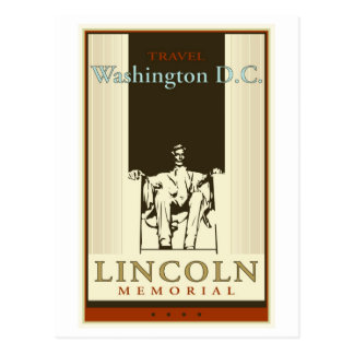 Travel Washington DC Postcard