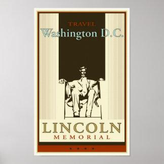 Travel Washington DC Poster