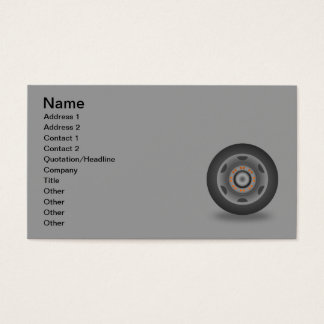 travel-wheel_Vector_Clipart circle shapes music Business Card