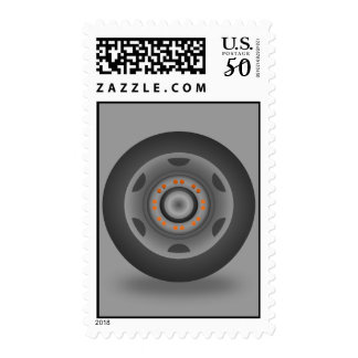 travel-wheel_Vector_Clipart circle shapes music Postage