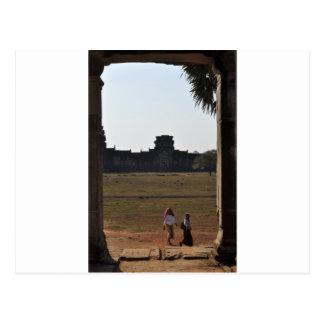 Travel window postcard
