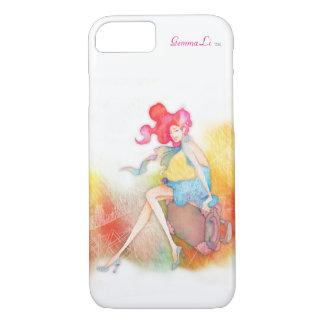 Travel Winks iPhone 7 Case by Gemma Li