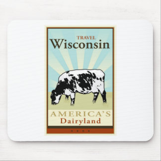 Travel Wisconsin Mouse Pad