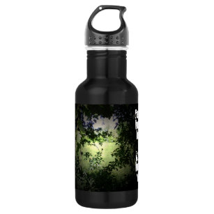 Travel wise stainless steel water bottle