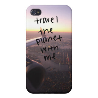 travel with me iphone 4 hoesje iPhone 4 cover