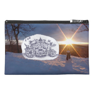 Travel with Mr Snowman Travel Accessory Bag