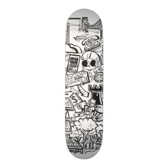 Travel with Pen Skateboard