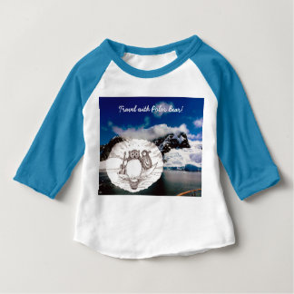Travel with Polar Bear sketch gift Baby T-Shirt