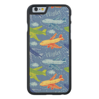 Travel Carved® Maple iPhone 6 Slim Case