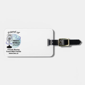 Travel World Luggage Tag