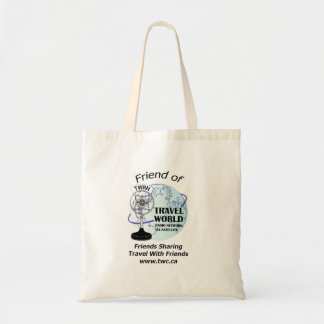 Travel world Radio Show Tote Bag