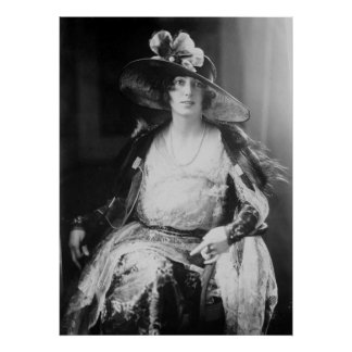 Travel Writer Rosita Forbes: 1920s Poster