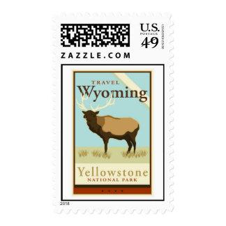 Travel Wyoming Postage