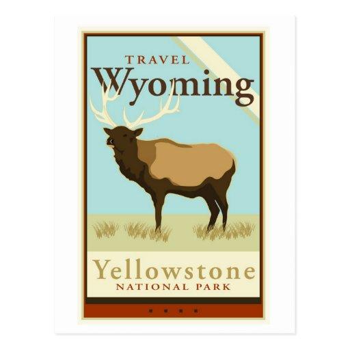 Travel Wyoming Postcards