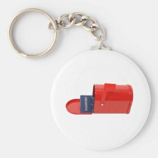 TravelByMail070109 Keychain