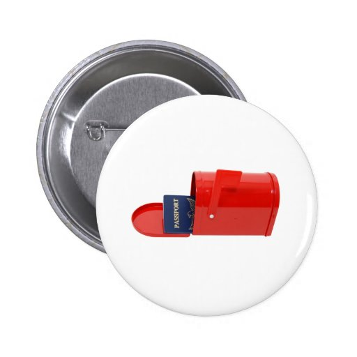 TravelByMail070109 Pin Redondo 5 Cm