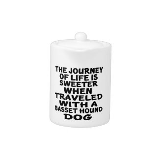 Traveled With A Basset Hound Life Partner Teapot