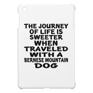 Traveled With A Bernese Mountain Dog Life Partner Cover For The iPad Mini