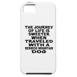 Traveled With A Bernese Mountain Dog Life Partner iPhone SE/5/5s Case