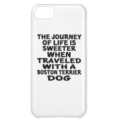 Case-Mate Barely There iPhone 5C Case with Boston Terrier Phone Cases design