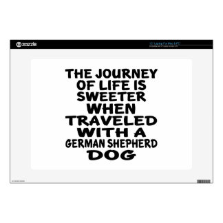 Traveled With A German Shepherd Life Partner Skin For Laptop