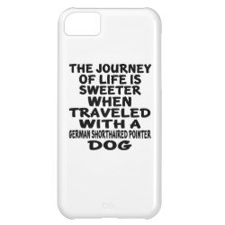 Case-Mate Barely There iPhone 5C Case with German Shorthaired Phone Cases design