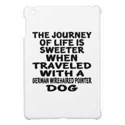Traveled With A German Wirehaired Pointer Life Par iPad Mini Case