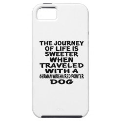 Traveled With A German Wirehaired Pointer Life Par iPhone SE/5/5s Case