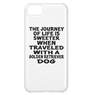Traveled With A Golden Retriever Life Partner iPhone 5C Cover