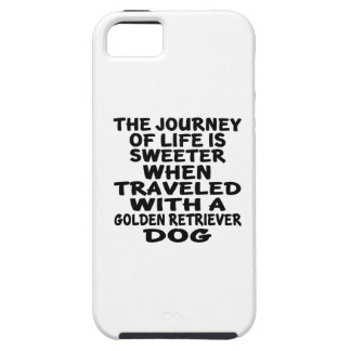 Traveled With A Golden Retriever Life Partner iPhone SE/5/5s Case